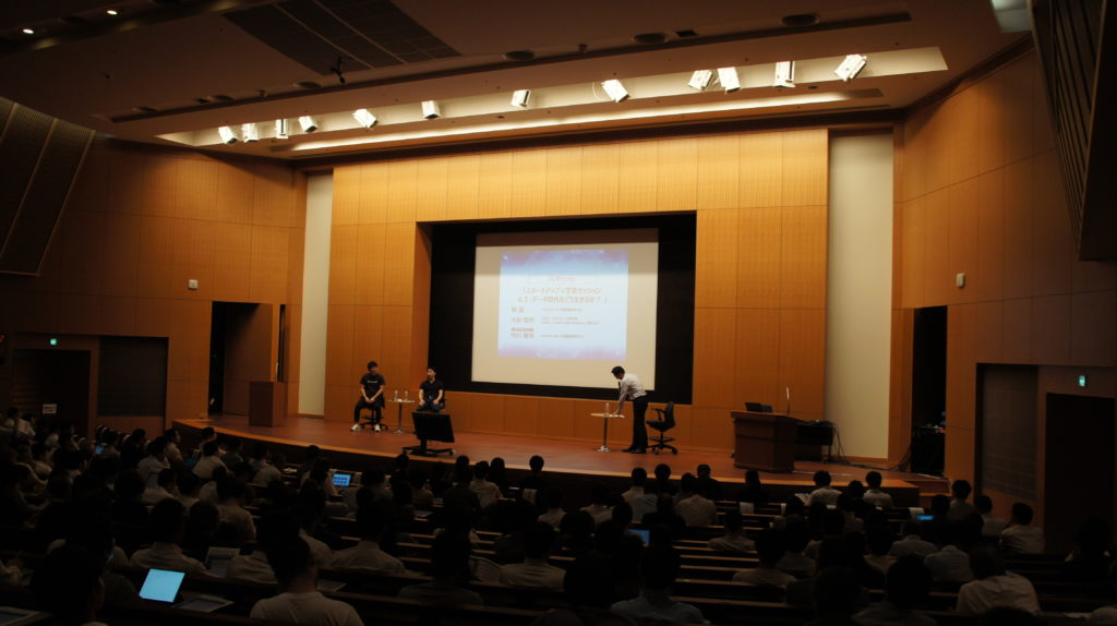 Date Science Fes2019の講演の様子